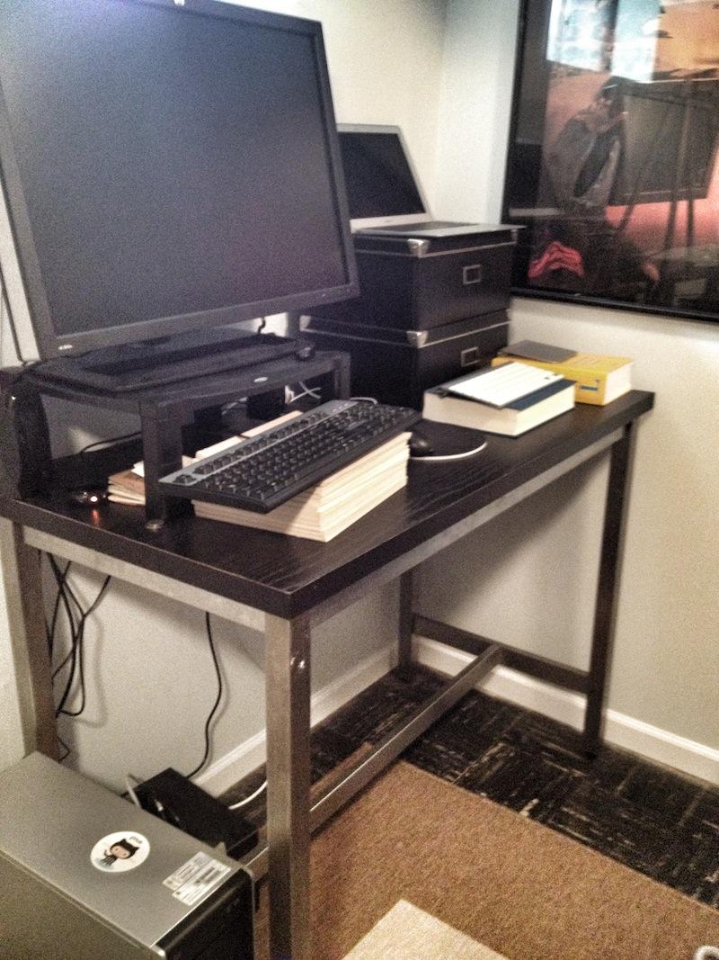 Standing Desk Footstool Focal Stabilizing Foot Rest Provides