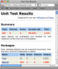 Unit Test Results in Safari
