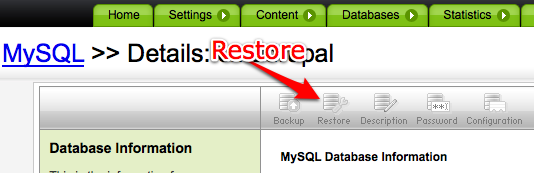 how to connect to godaddy mysql database