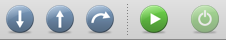 The MacGDBp Button Bar
